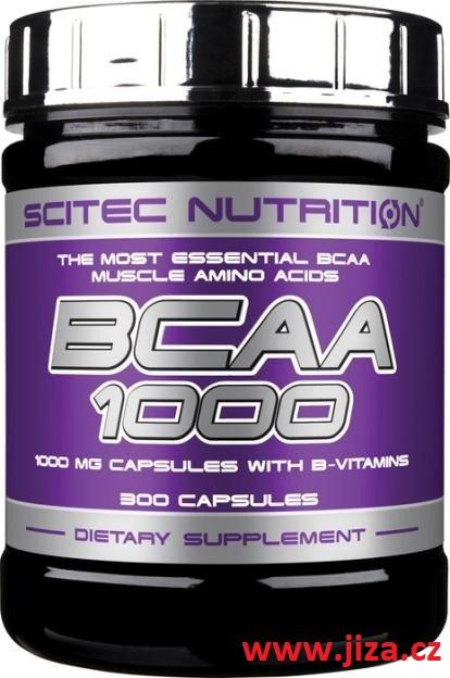 Scitec Nutrition BCAA 1000 300 kapslí