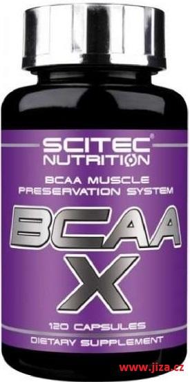 Scitec Nutrition BCAA X 120 kapslí