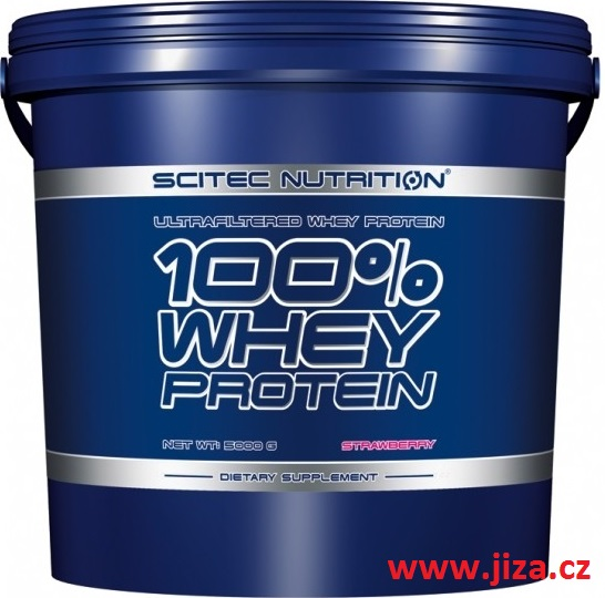 Scitec Nutrition 100% Whey Protein 5000 g