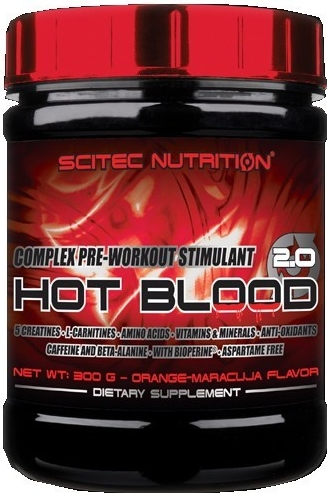Scitec Nutrition Hot Blood 2.0 820 g