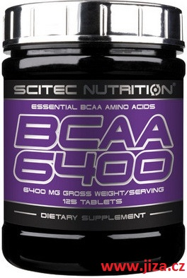 Scitec Nutrition BCAA 6400 125 tablet