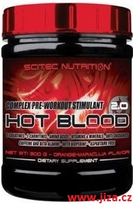 Scitec Nutrition Hot Blood 2.0 300 g
