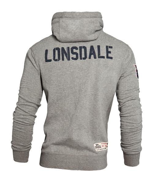 Lonsdale pánská mikina L (EASTBOURNE Grey )
