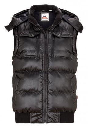 Lonsdale pánská zimní vesta M (SEASALTER Black )