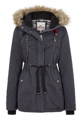 Lonsdale dámská bunda XL (Ladies Hooded Winter Jacket WITTERSHAM)