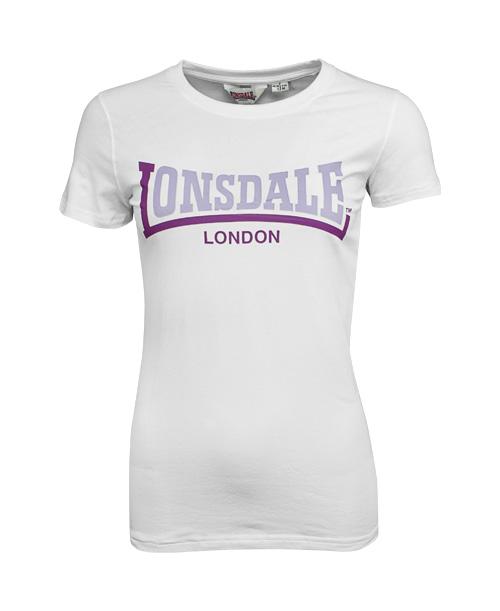 Lonsdale dámské tričko XS (KINLEY White )
