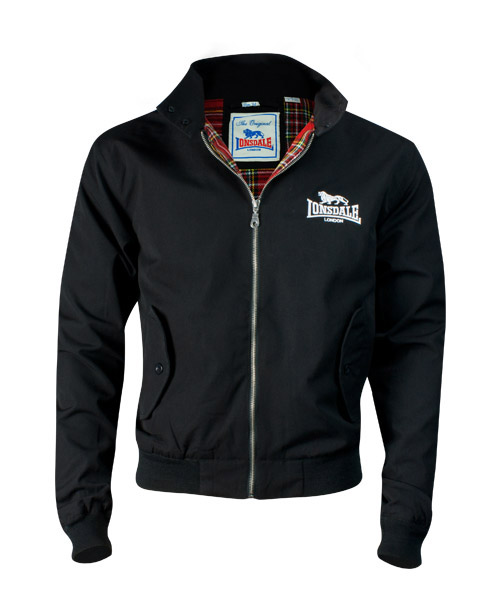 Lonsdale pánská bunda XXXL (harrington black)