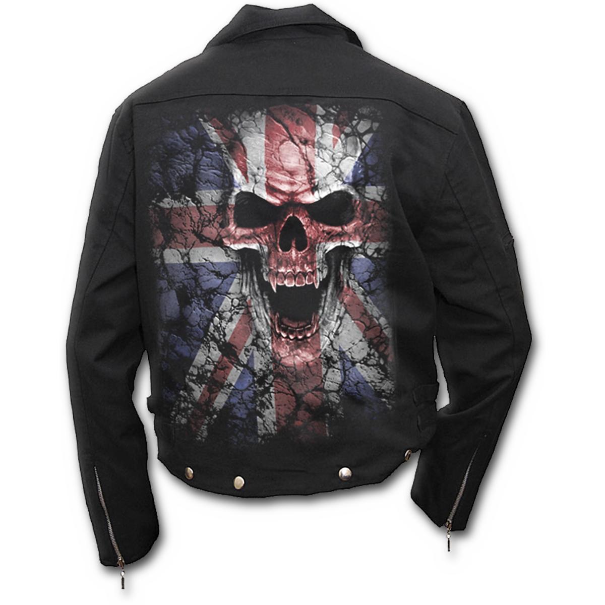 Spiral Direct bunda pánská - XL (UNION WRATH Lined Biker Jacket Black)