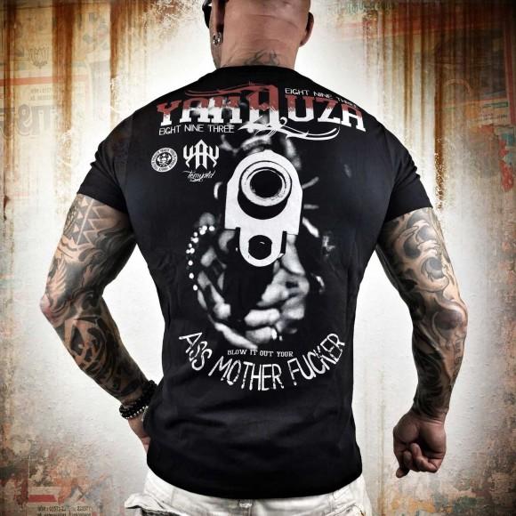 Yakuza tričko pánské - 5XL (Blow It Out TSB 8005 black )