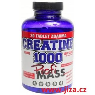 Profi mass Profi Creatine 1000 200 tablet