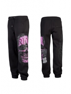Blood in Blood Out Calavera Sweatpants pink